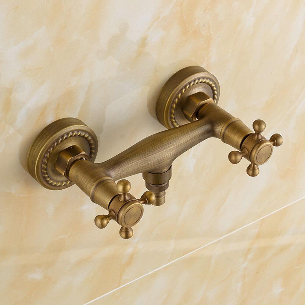 Retro Duscharmatur Brause Armatur Dusche Wasserhahn Mischbatterie Badarmatur NEW