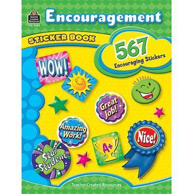 Encouragement Sticker Book Teacher Created Resources TCR4434