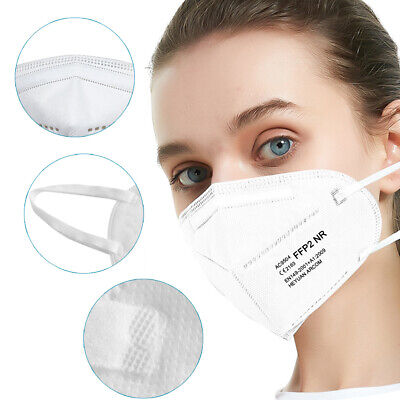 Maske FFP2 Atemschutzmaske 10 stück CE zertfiziert mund masken gesichtsmaske