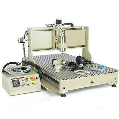 Usb 4 Axis 1500w Cnc 6090 Router Milling Engraving Engraver 3d Drilling Machine