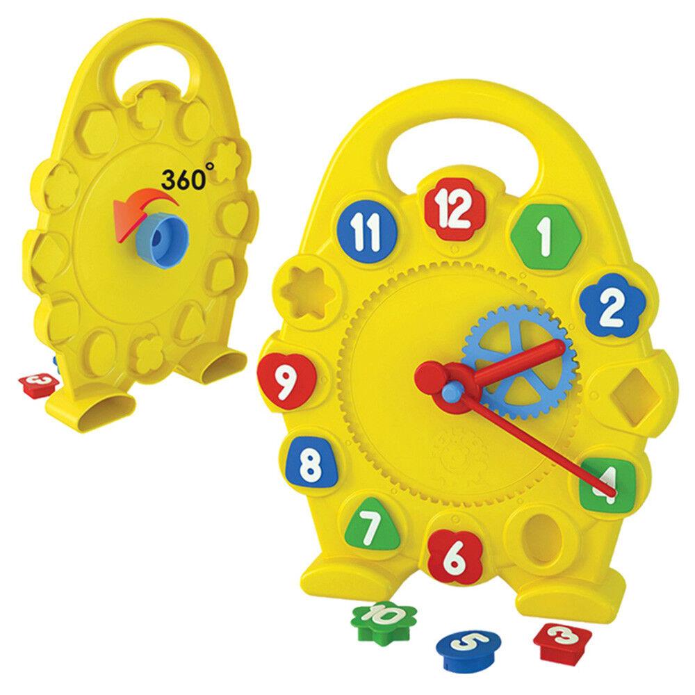 Technok Lernspielzeug Kinderuhr Uhrzeit lernen Kinder Spielzeug Uhr