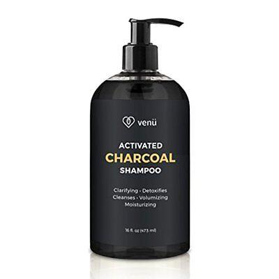 Activated Charcoal Keratin Shampoo For Men & Women Volumizing, -