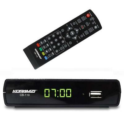 HDTV Digital TV Converter Box with Recording and Media Player Remote Control ()