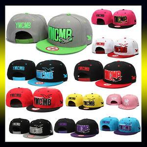 Snapback-Hats-YMCMB-Caps-Multicolor