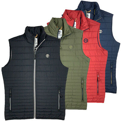 Timberland Men's Puffer Poly Fill Lightweight Vest -