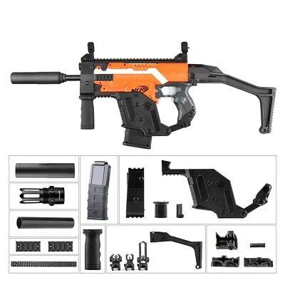 Worker Kriss Vector Imitation Kit for Nerf N-Strike Stryfe Blaster style A