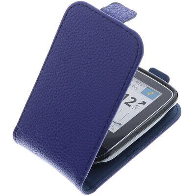 Tasche für Abbott Freestyle Libre 2 FlipStyle Schutz Hülle Case Blau
