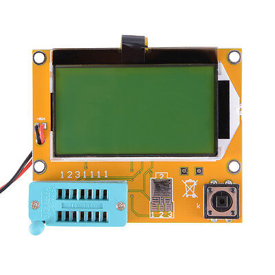 LCR-T4 Transistor Tester Diode Triode Capacitance ESR Meter with LCD 12864 TE641 online kaufen