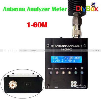 Mr300 Digital Shortwave Antenna Analyzer Meter Tester 1-60m For Ham Radio