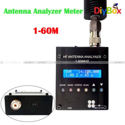 MR300 Digital Shortwave Antenna Analyzer Meter Tester 1-60M