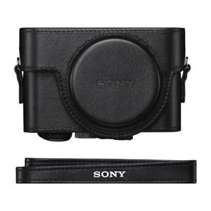 Sony LCJRXF/B Jacket Case for Cyber-shot RX100 Series (Black) Condition: New
