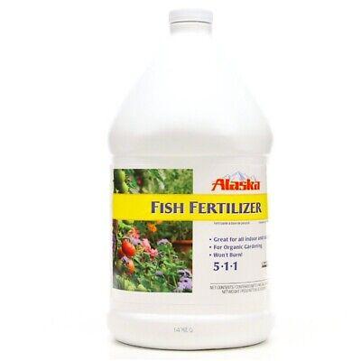 All Purpose Food Natural Alaska Fish Emulsion Fertilizer Deodorized 1-gal