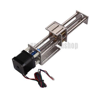Mini Cnc Z Axis Slide 150mm Diy Linear Motion Milling 3 Axis Engraving Machine