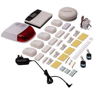Wireless GSM SMS Seguridad Oficina Hogar Casa Kit de sistema de alarma...