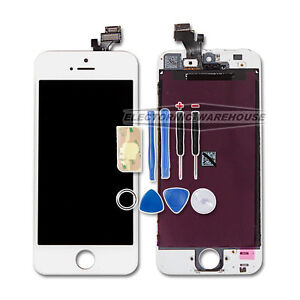 For-Apple-iphone-5-5G-lcd-display-digitizer-touch-screen-glass-replacement-WHITE