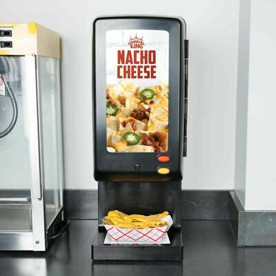 Commercial Nacho Cheese Chips Sauce Dispenser Warmer 110 Oz Bag