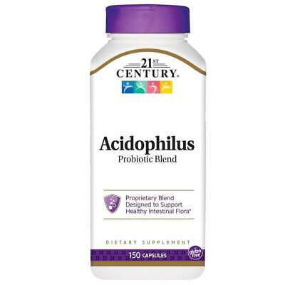 Reviews: 21st Century Acidophilus Probiotic Blend Capsules 150 Count