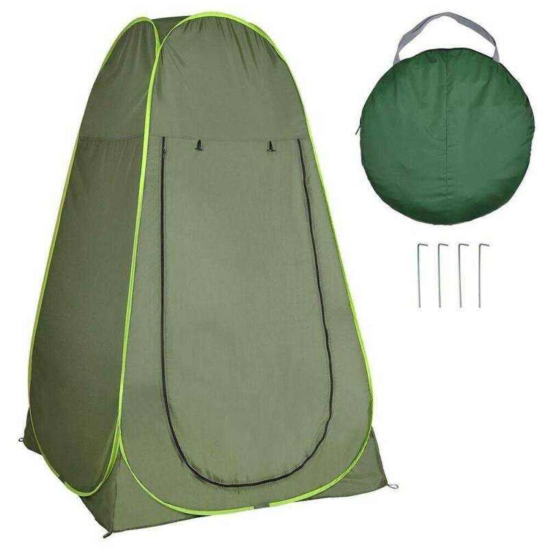 Pop Up Privacy Tent Instant Portable Outdoor Shower Tent Cam