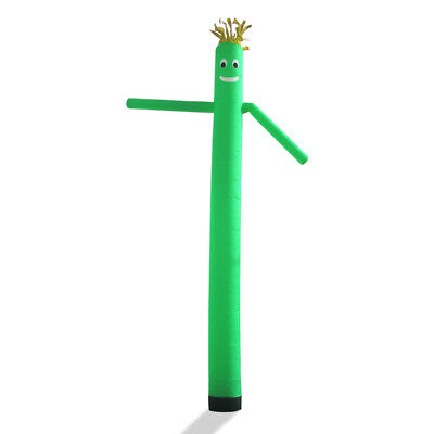 Air Inflatable Sky Puppet Great Dancer- 20 Ft Plain Green