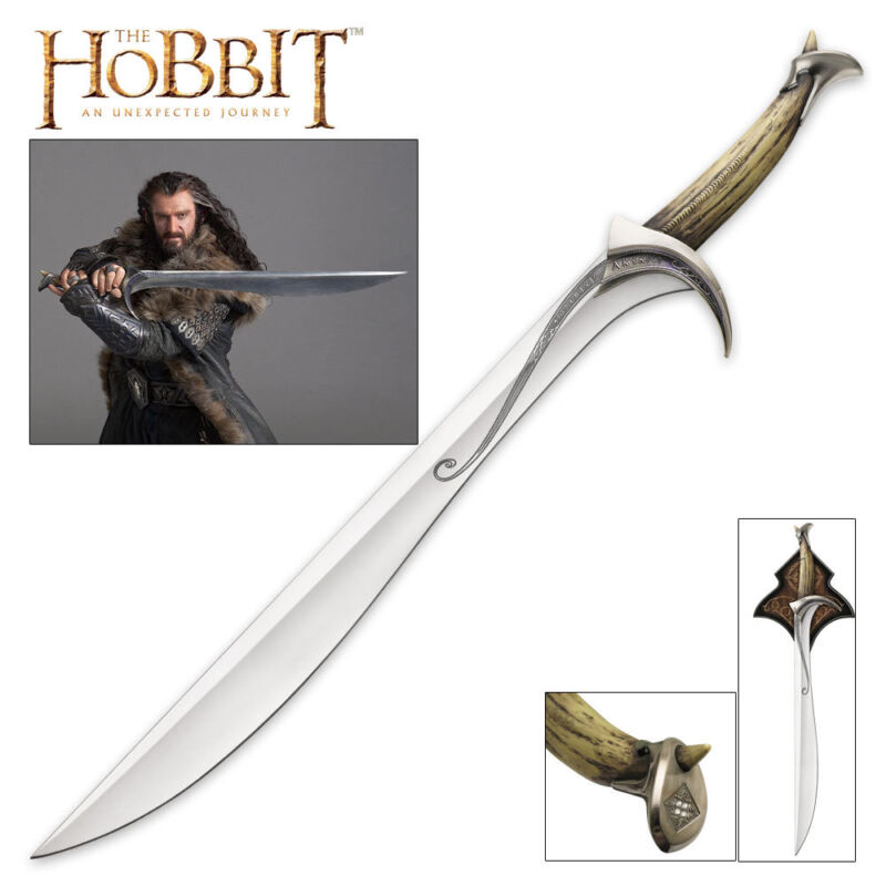 United Cutlery UC2928 The Hobbit Orcrist Sword Of Thorin Oakenshield + Display