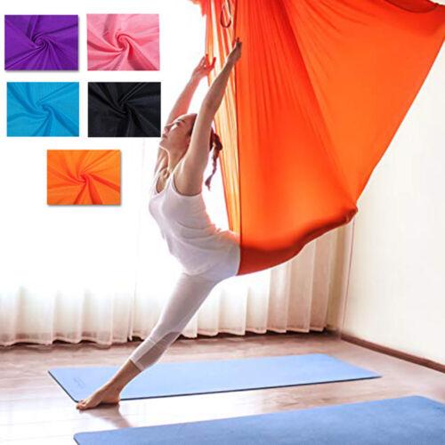 1m/4m Fitness Übungen Hänge-Matte beharrlich Yoga Swing Schaukel Tuch für Aerial
