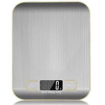 Bascula de Cocina Digital Peso Electronico de Precision LCD Pesa 5gr a...