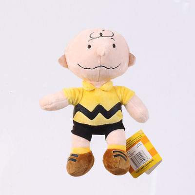 Peanuts Charlie Brown Plush Doll Stuffed Figure Toys Gift 9 Inch