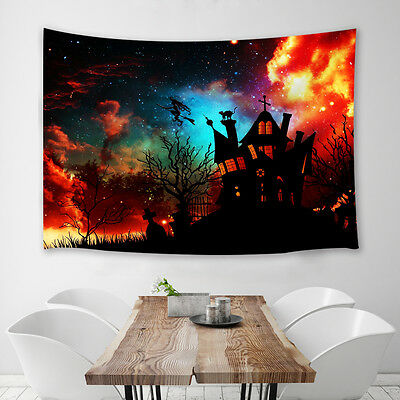Halloween theme Tapestry Wall Hanging for Living Room Bedroom Dorm Decor (Room Themes For Halloween)