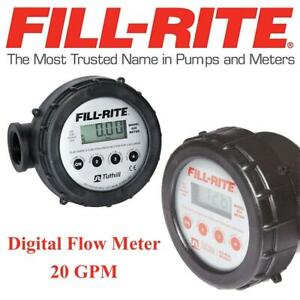 Used Fill-Rite 820 Digital Flow Meter - 20 GPM, 1 Condtion: Used, Unable to test