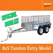 8x5 Galvanised Fully Welded Tandem Trailer 2T ATM Entry Model New Dandenong Greater Dandenong Preview