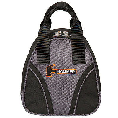 Hammer Plus 1 BLACK/CARBON One Ball Add On Bowling Bag