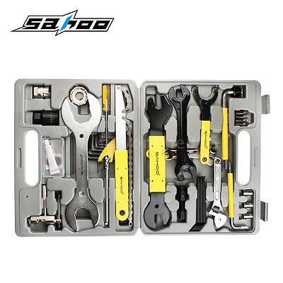 Fahrrad Werkzeugkoffer 44tlg Werkzeugtasche Werkzeug Tool Box Set Reparatur Q1J9