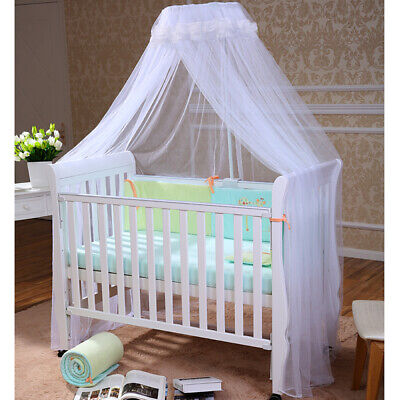 Baby Bed Mosquito Net Mesh Dome Curtain Net for Toddler Crib Cot Canopy