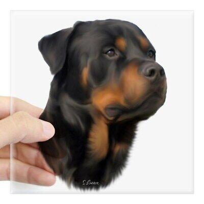 Home Decoration - CafePress Rottweiler Sticker Square Sticker  (2040048788)