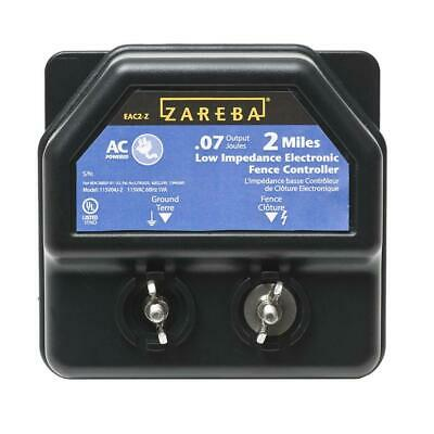 Zareba 2 Mile Ac Low Cost Electric Fence Charger Energizer Ea2m-z Animal Control