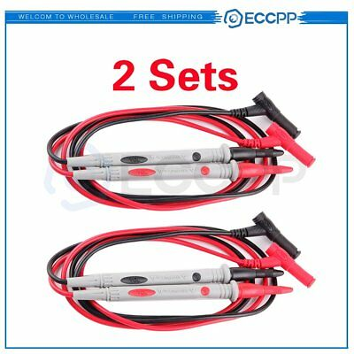 2pcs Probes Test Lead Cable For Fluke Multimeter Tl71 Digital Multi Meter
