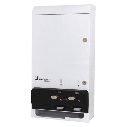 EVOGEN EV1-FREE Sanitary Napkin/Tampon Dispenser,Metal