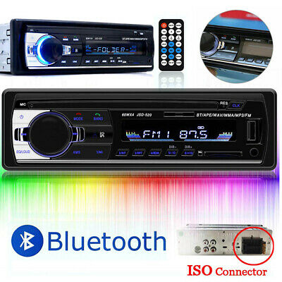 USB/SD/FM/AUX-IN In-Dash Display 1 Din Car Radio Stereo Player MP3