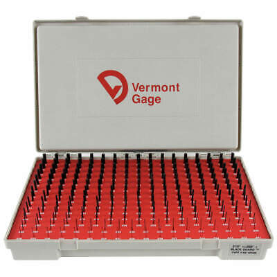 Vermont Gage 901100300 Plug Gage Setplus0.011-0.250black