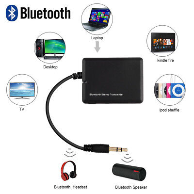 3.5mm Bluetooth Dongle Sender Bluetooth Transmitter Audio Adapter für TV PC MP3