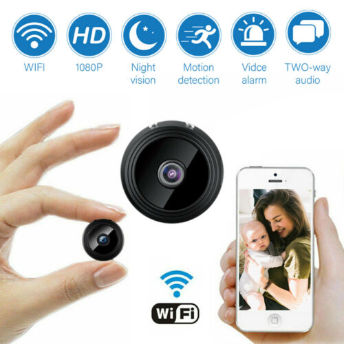 1080P Mini Hidden Spy Camera WiFi Small Wireless Smart secur