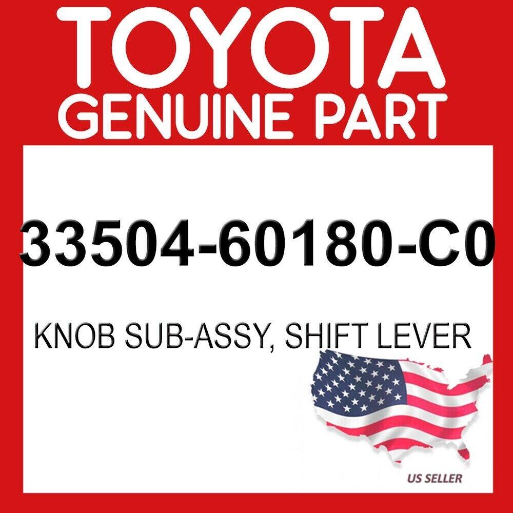 TOYOTA Genuine 33504-42070-C0 Shift Lever Knob Sub Assembly