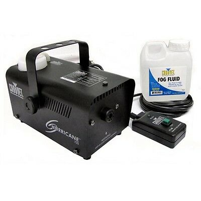 Chauvet Halloween Pro DJ Fog Smoke Machine w/ Fog Fluid & Wired Remote | H-700