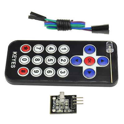 Hx1838 Vs1838 Arduino Infrared Ir Wireless Remote Control Sensor Module Kits Sk