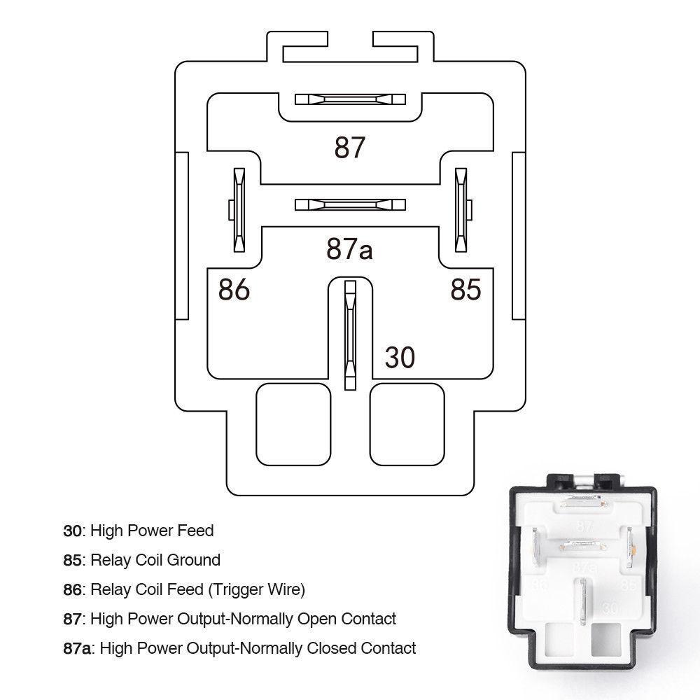 6pcs 12v 5 pin bosch car relay switch harness set 30amp. Black Bedroom Furniture Sets. Home Design Ideas