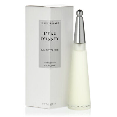 ISSEY MIYAKE L`Eau D`Issey 100ml EDT For Women Spray Authentic UNSEALED BOX