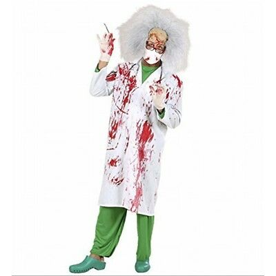 Bloody Lab Coats Costume Small For Hospital Doctor Scientist Fancy Dress -