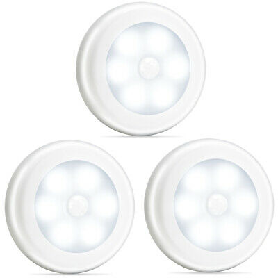Novelty Place LED Motion Sensor Lights Cordless Battery Powered  (3 Pack) ()