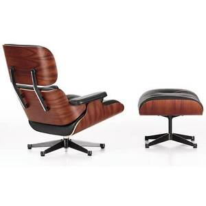Replica Eames lounge chair + Ottoman Premium leather wood frame Hornsby Hornsby Area Preview