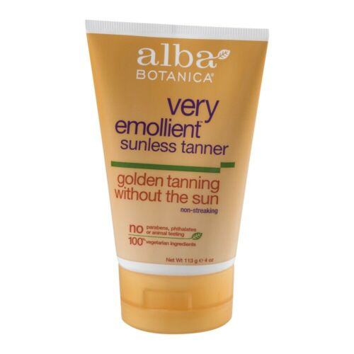 very emollient sunless tanner 4 oz